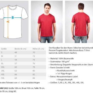 Teufelskraft Pattern  – Herren Shirt