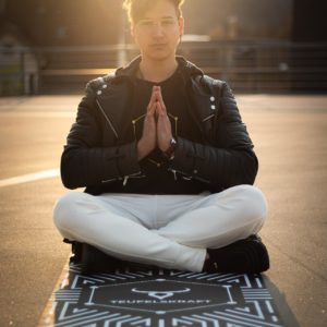 Teufelskraft-Yogamatte